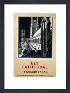 Ely Cathedral - It's Quicker by Rail by National Railway Museum