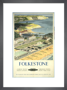 Folkestone - View from the Air by National Railway Museum