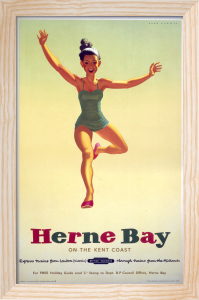 Herne Bay - Girl in Green Costume by National Railway Museum