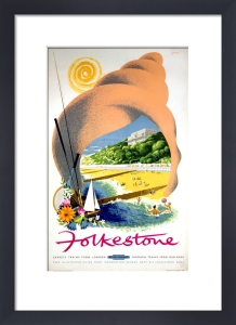 Folkestone in a Seashell by National Railway Museum