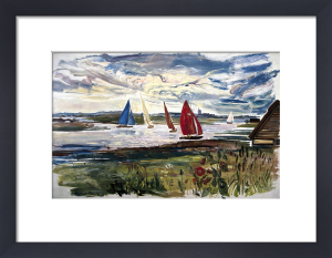 Norfolk Sailing Boats by National Railway Museum
