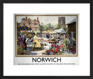 Norwich - Market by National Railway Museum