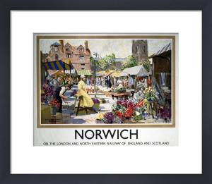 Norwich - Market by National Railway Museum