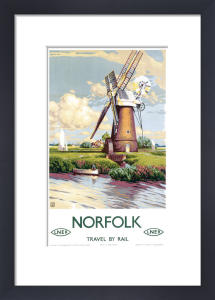 Norfolk - Windmill by National Railway Museum