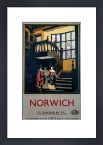 Norwich - Inside Tudor Building by National Railway Museum