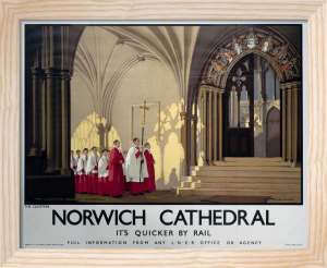 Norwich Cathedral Choir by National Railway Museum