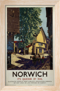 Norwich - Horse and Cart by National Railway Museum