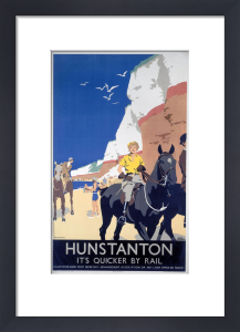 Hunstanton - Woman on Horse by National Railway Museum