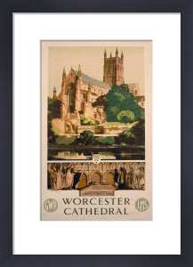Worcester Cathedral by National Railway Museum