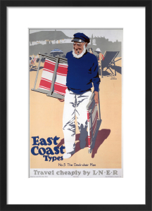 East Coast Types - Deck Chair Man by National Railway Museum