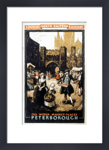 Old World Market-Places - Peterborough by National Railway Museum