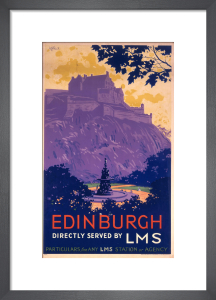 Edinburgh - Castle by National Railway Museum