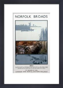 Norfolk Broads - Eels by National Railway Museum