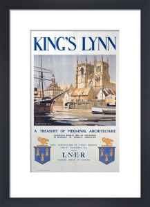 King's Lynn - Treasury of Medieval Architecture by National Railway Museum
