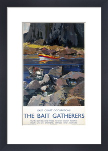 East Coast Occupations - Bait Gatherers by National Railway Museum