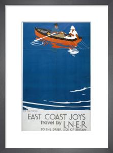East Coast Joys - Sea Fishing by National Railway Museum