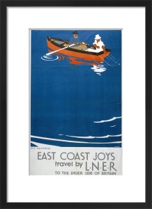 East Coast Joys - Sea Fishing by National Railway Museum