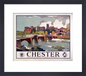 Chester - Bridge by National Railway Museum