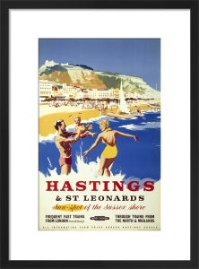 Hastings & St Leonards - Beach by National Railway Museum