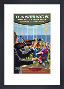 Hastings & St Leonards - Violin Player by National Railway Museum