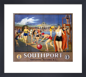 Southport - Sea Bathing Lake by National Railway Museum