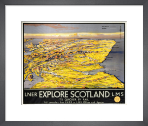 Explore Scotland - Map by National Railway Museum