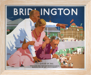 Bridlington - Pointing Man by National Railway Museum