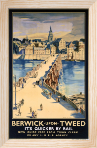 Berwick-upon-Tweed - It's Quicker by Rail by National Railway Museum
