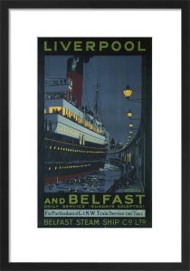 Liverpool-Belfast Ferry by National Railway Museum