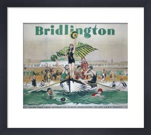 Bridlington - Bathers by National Railway Museum