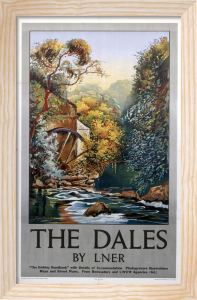 The Dales - Watermill by National Railway Museum