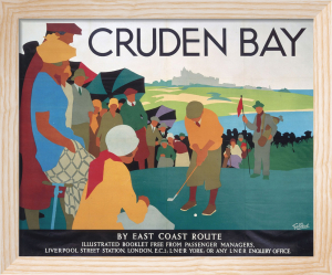 Cruden Bay - Golf Putting by National Railway Museum