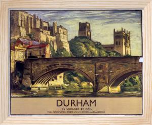 Durham - Bridge by National Railway Museum