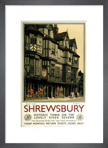 Shrewsbury - Irelands Mansion by National Railway Museum