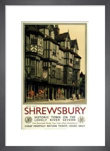 Shrewsbury - Irelands Mansion by National Railway Museum