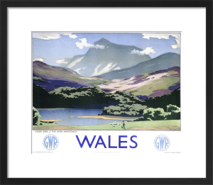 Wales - Cader Idris and Afon Mawddach by National Railway Museum