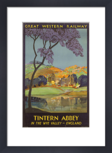 Tintern Abbey - Wye Valley by National Railway Museum