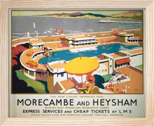 Morecambe and Heysham - Swimming Pool by National Railway Museum