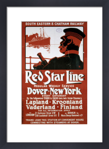 Red Star Line - Dover-New York by National Railway Museum