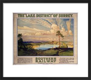 The Lake District of Surrey by National Railway Museum