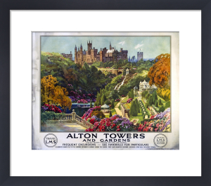 Alton Towers and Gardens by National Railway Museum