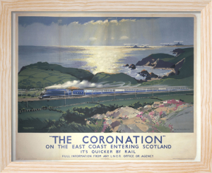 The Coronation on the East Coast by National Railway Museum