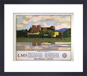 Rhuddlan Castle by National Railway Museum