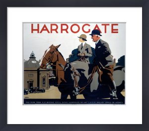 Harrogate - Couple on Horseback by National Railway Museum