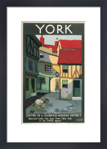York, Centre of a Glorious Holiday District by National Railway Museum