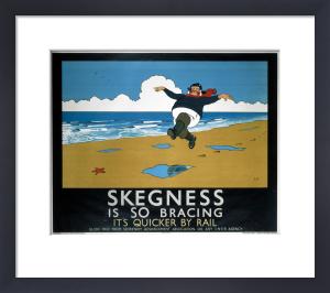 Skegness is So Bracing (black border) by National Railway Museum