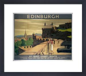 Edinburgh - Castle Battlements by National Railway Museum