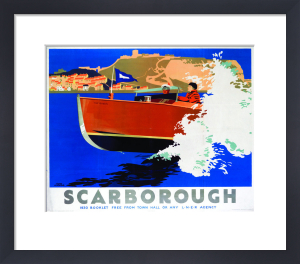Scarborough - Speed Boat by National Railway Museum