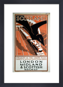 Scotland - Straight as the Crow Flies by National Railway Museum