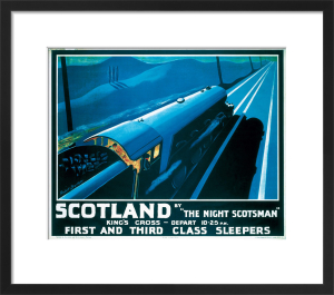 The Night Scotsman by National Railway Museum